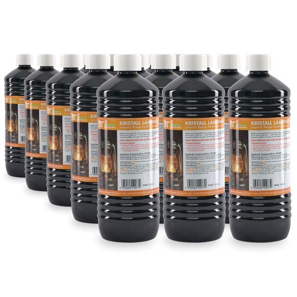 15 x 1 Liter Kristall Lampenöl Hochrein von Höfer Chemie 1 Liter Flasche